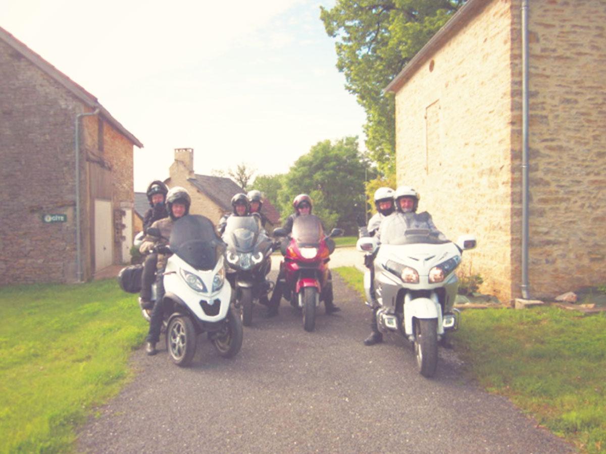 Nos vacanciers Gîte de Chabrevialard Dordogne